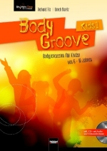 BodyGroove Kids 1, mit CD-ROM