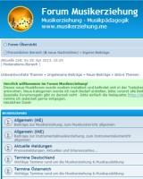 Forum Musikerziehung / Musikpädagogik